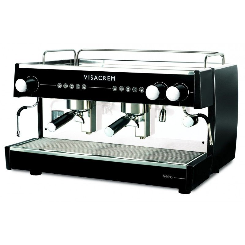 Quality Espresso Visacrem Vetro ekspres kolbowy