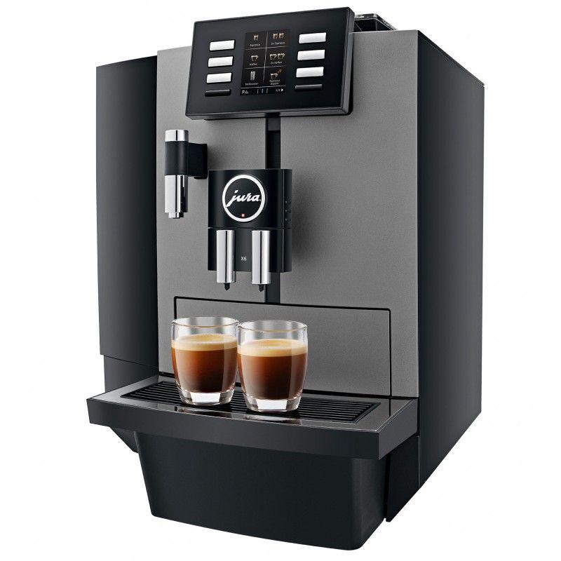Jura X6 ekspres do kaw czarny z przeznaczeniem do biura